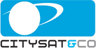 CITYSAT install a wide range of English and American TV channels via satellite or via IPTV or NOW TV Logo
